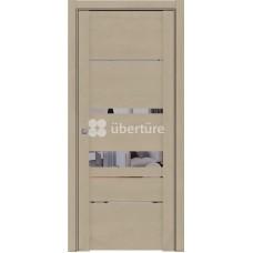 Дверь Uberture 30023 Софт Кремовый бронзовое зеркало