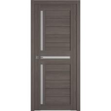 Дверь ВФД GLAtum X16 Грей стекло сатинат белый
