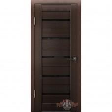 Дверь ВФД Line Л1ПГ4  Венге стекло ультра черное