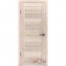Дверь ВФД Line Л1ПГ1  Капучино стекло бежевое