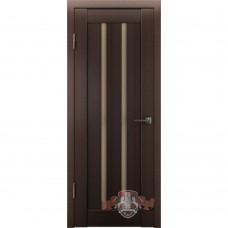 Дверь ВФД Line Л2ПГ4  Венге стекло бронза сатинат