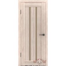 Дверь ВФД Line Л2ПГ1  Капучино стекло бронза сатинат