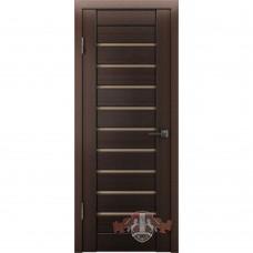 Дверь ВФД Line Л3ПГ4  Венге стекло бронза сатинат