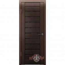 Дверь ВФД Line Л3ПГ4  Венге стекло ультра черное