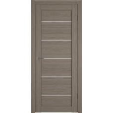 Дверь ВФД Atum Pro 27  Brun Oak стекло сатинат Полар