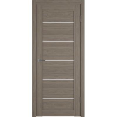 Дверь ВФД Atum Pro 27  Brun Oak стекло сатинат белый