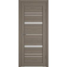 Дверь ВФД Atum Pro 25  Brun Oak стекло сатинат белый