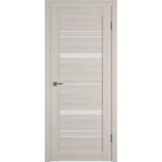 Дверь ВФД Atum Pro 25  Scansom Oak стекло сатинат белый