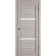 Дверь ВФД Atum Pro 25  Stone Oak стекло сатинат белый