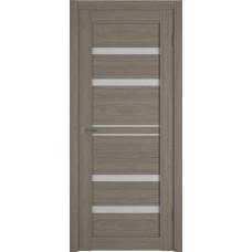 Дверь ВФД Atum Pro 26  Brun Oak стекло сатинат Полар