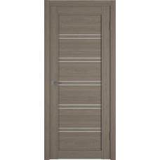 Дверь ВФД Atum Pro 28 Brun Oak стекло сатинат Полар