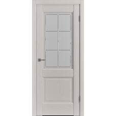 Дверь ВФД Classic Trend Trend 2 Fleet Soft со стеклом сатинат с алмазной гравировкой