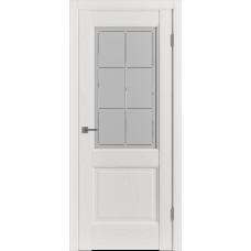 Дверь ВФД Classic Trend Trend 2 Polar Soft со стеклом сатинат с алмазной гравировкой