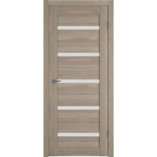 Дверь ВФД Light 7 Mocco стекло сатинато белое