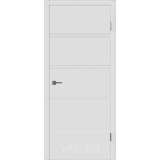 Дверь ВФД Зимняя коллекция Бостон ДГ эмаль белая