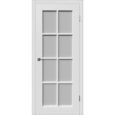 Владимирская дверь ВФД Зимняя коллекция Porta 20ДО0 Polar стекло Полар сатинат