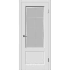 Дверь ВФД Зимняя коллекция Шеффилд ДО эмаль белая