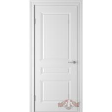 Дверь ВФД Зимняя коллекция Стелла 68ДГ0 эмаль белая
