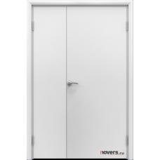 Дверь пластиковая Aquadoor Белый двустворчатая