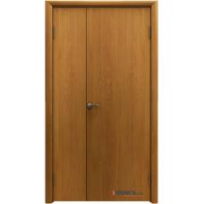 Дверь пластиковая Aquadoor Миланский орех двустворчатая