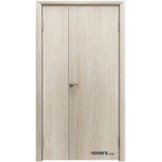 Дверь пластиковая Aquadoor Скандинавский дуб двустворчатая