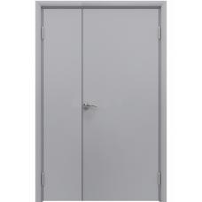 Дверь пластиковая Aquadoor (Аквадор) Серый RAL 7035 двустворчатая