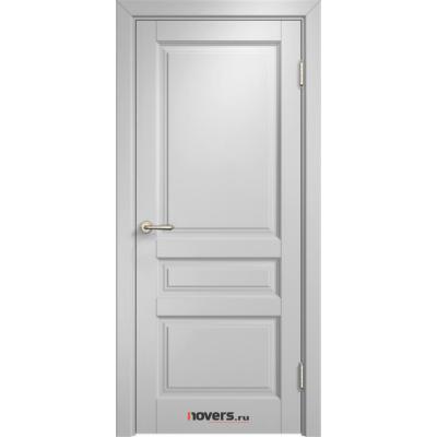 Дверь комбинированный массив Арсенал Мадера Микс Ол 85 ДГФ Белый грунт