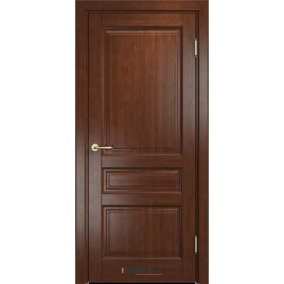 Дверь комбинированный массив Арсенал Мадера Микс Ол 85 ДГФ Коньяк