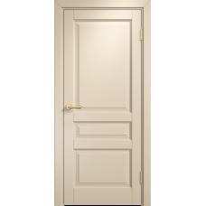 Белорусская дверь комбинированный массив Арсенал Мадера Микс Ол 85 ДГФ Слоновая кость