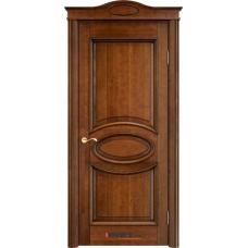 Дверь массив ольхи Арсенал Мадера Ол 26 ДГФ Коньяк с патиной