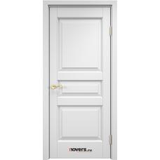 Дверь массив ольхи Арсенал Мадера Ол 5 ДГФ Эмаль белая