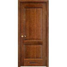Дверь массив ольхи Арсенал Мадера Ол 6/2 ДГФ Коньяк