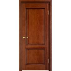 Дверь массив сосны Арсенал Мадера 117ш ДГФ Коньяк с патиной орех