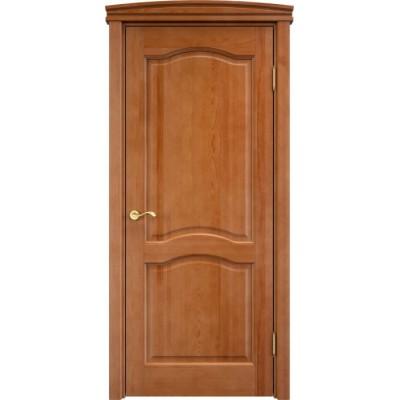 Дверь массив сосны Арсенал Мадера 7ш ДГФ Орех 10%