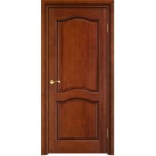 Дверь массив сосны Арсенал Мадера 7ш ДГФ Коньяк с патиной орех