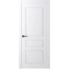 Белорусская дверь эмаль Belwooddoors Ламира 3 ДГ эмаль белая