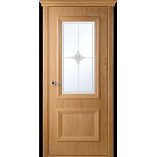 Дверь шпон Belwooddoors Франческа ДО рис 23 дуб