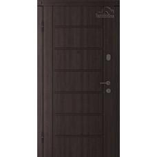 Дверь входная Belwooddoors Модель 2 Венге дорато/ALTA эмаль белый