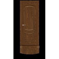 Ульяновская дверь шпонированная Ситидорс Калисто ДГ Дуб мореный