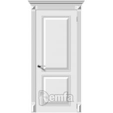 Дверь эмаль Demfa Блюз ДГ Белый