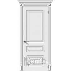 Дверь эмаль Demfa Трио ДГ Белый