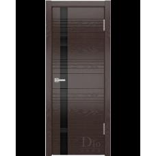 Дверь шпонированная Dio Doors Лайн-1 ДО(ч) Ясень венге