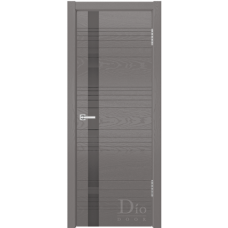 Дверь шпонированная Dio Doors Лайн-1 ДО Ясень графит
