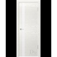 Дверь шпонированная Dio Doors Лайн-1 ДО Ясень белый