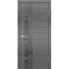 Дверь шпонированная Dio Doors Лайн-3 ДО(ч) Ясень графит