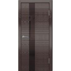Дверь шпонированная Dio Doors Лайн-3 ДО(ч) Ясень венге