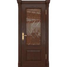 Дверь шпонированная Dio Doors Цезарь-1 ДО Дуб американский коньячный