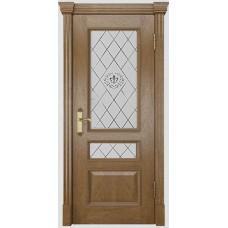 Дверь шпонированная Dio Doors Цезарь-2 ДО Дуб американский светлый