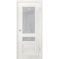 Дверь шпонированная Dio Doors Цезарь-2 ДО Ясень белый