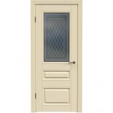 Дверь эмаль Двери-А Аккорд А17 ДО Эмаль слоновая кость